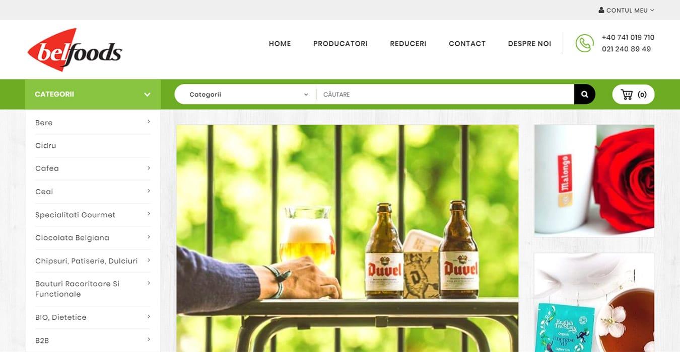 belfoods homepage