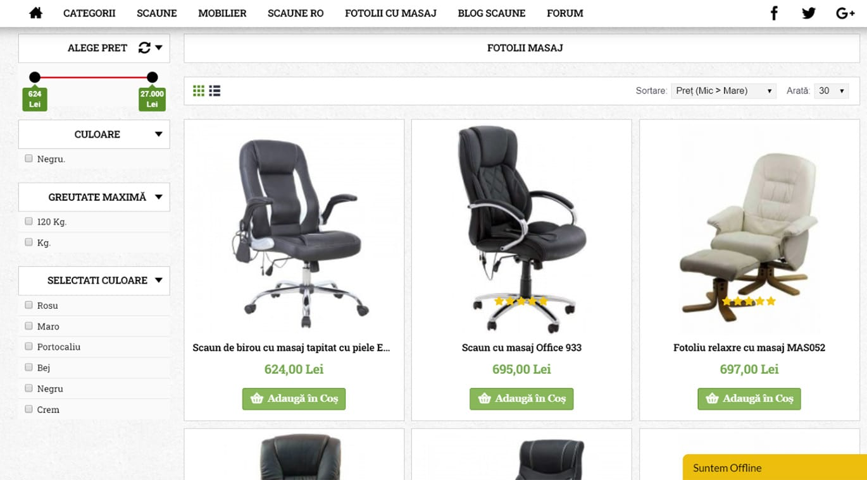 comenzi-scaune categorie