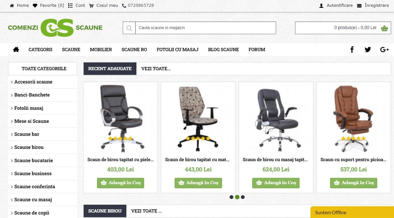 comenzi-scaune homepage