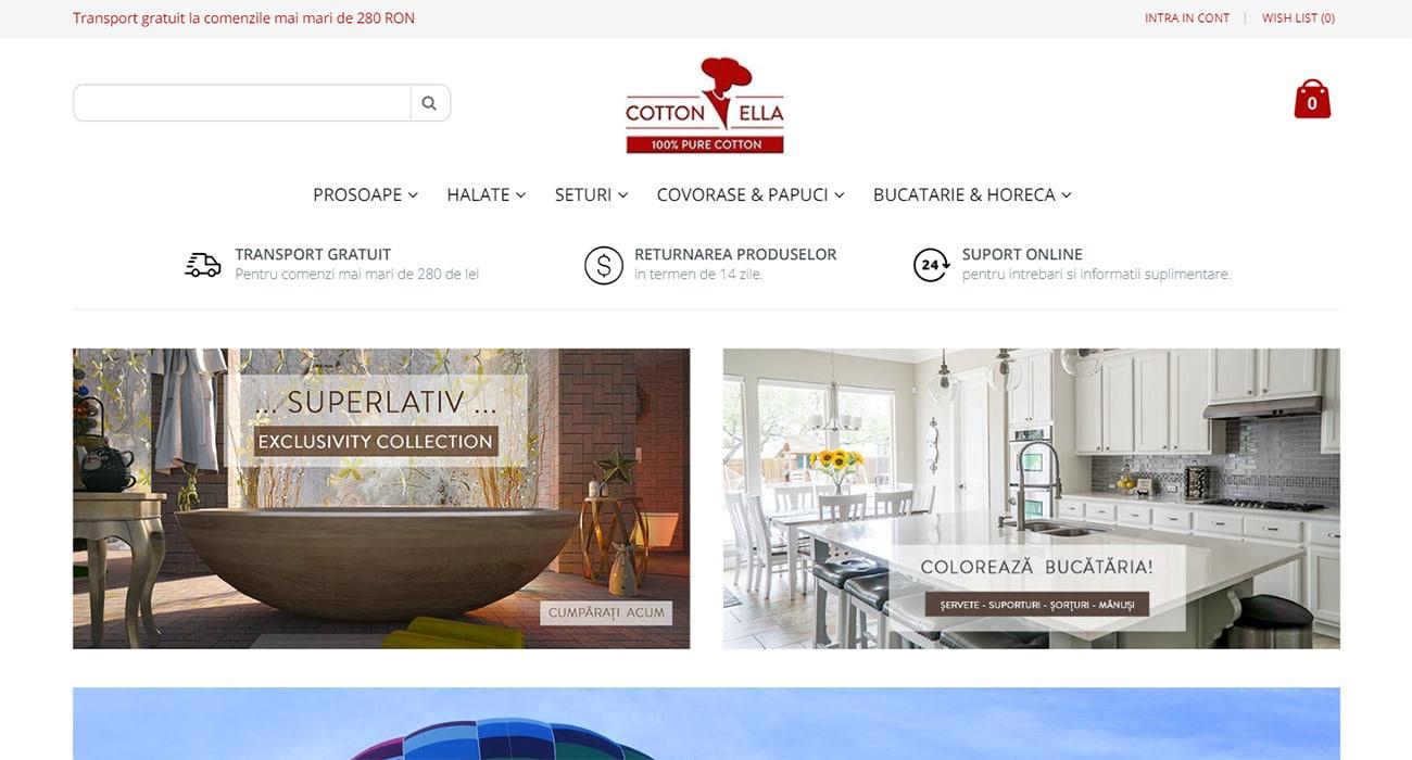 cottonella homepage