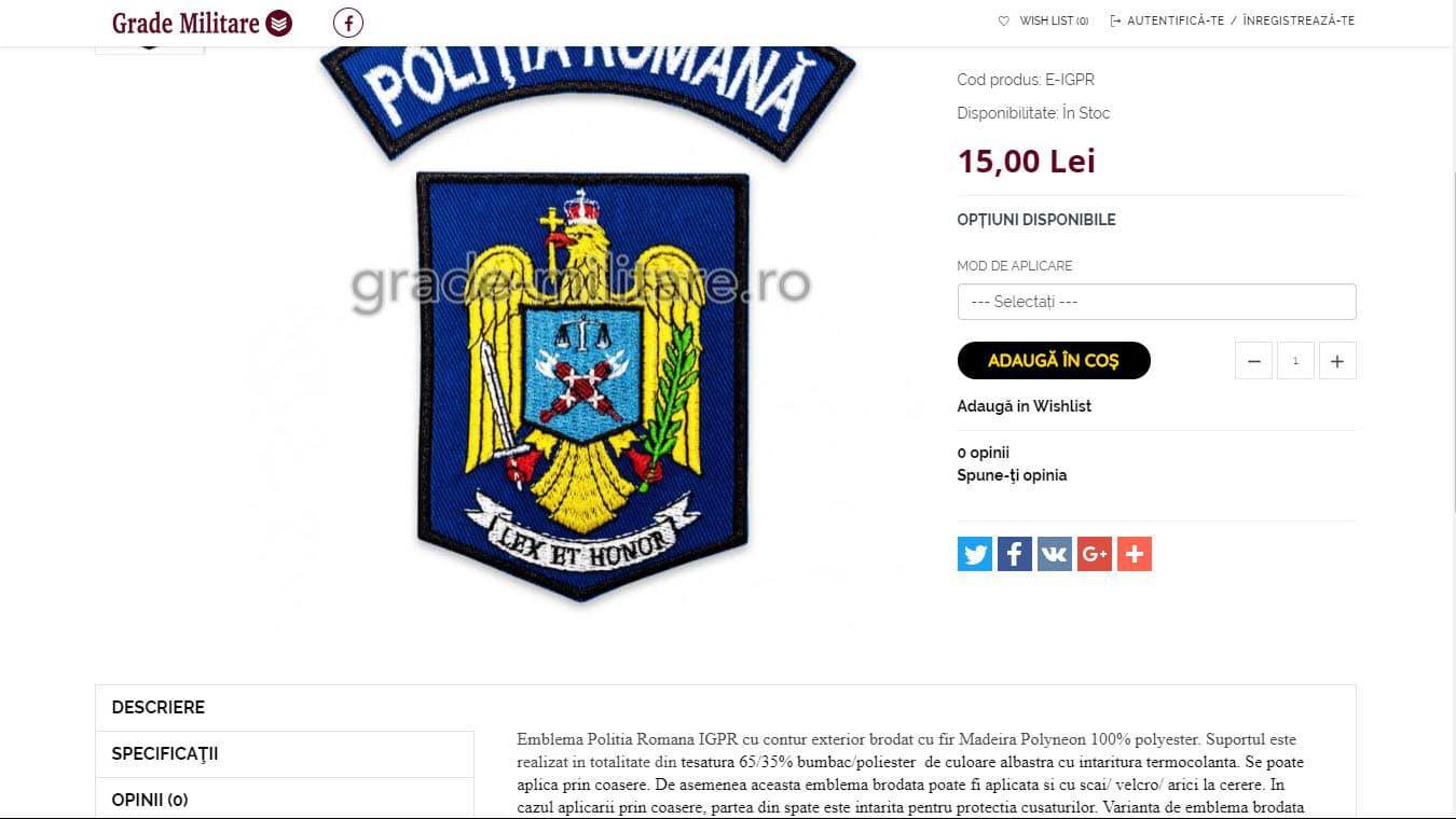 grade-militare pagina produs