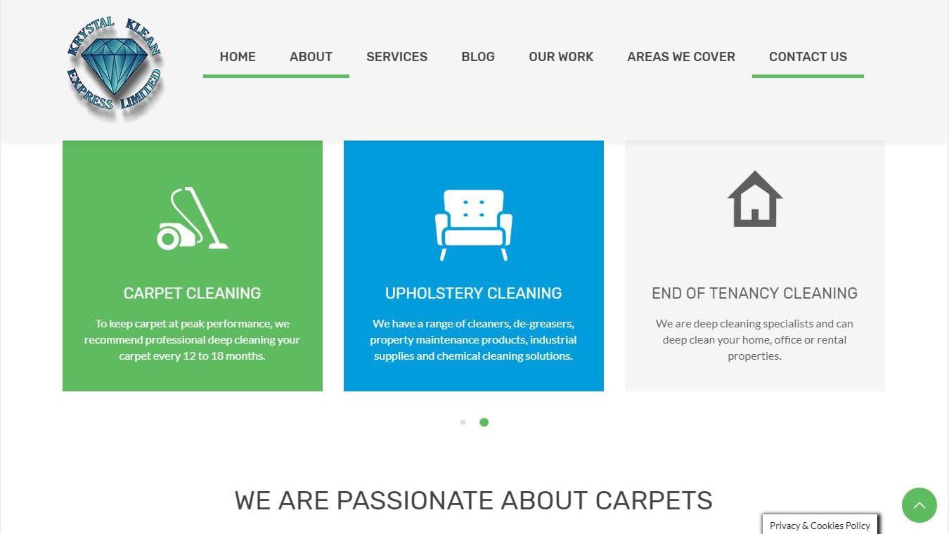 krystalklean homepage
