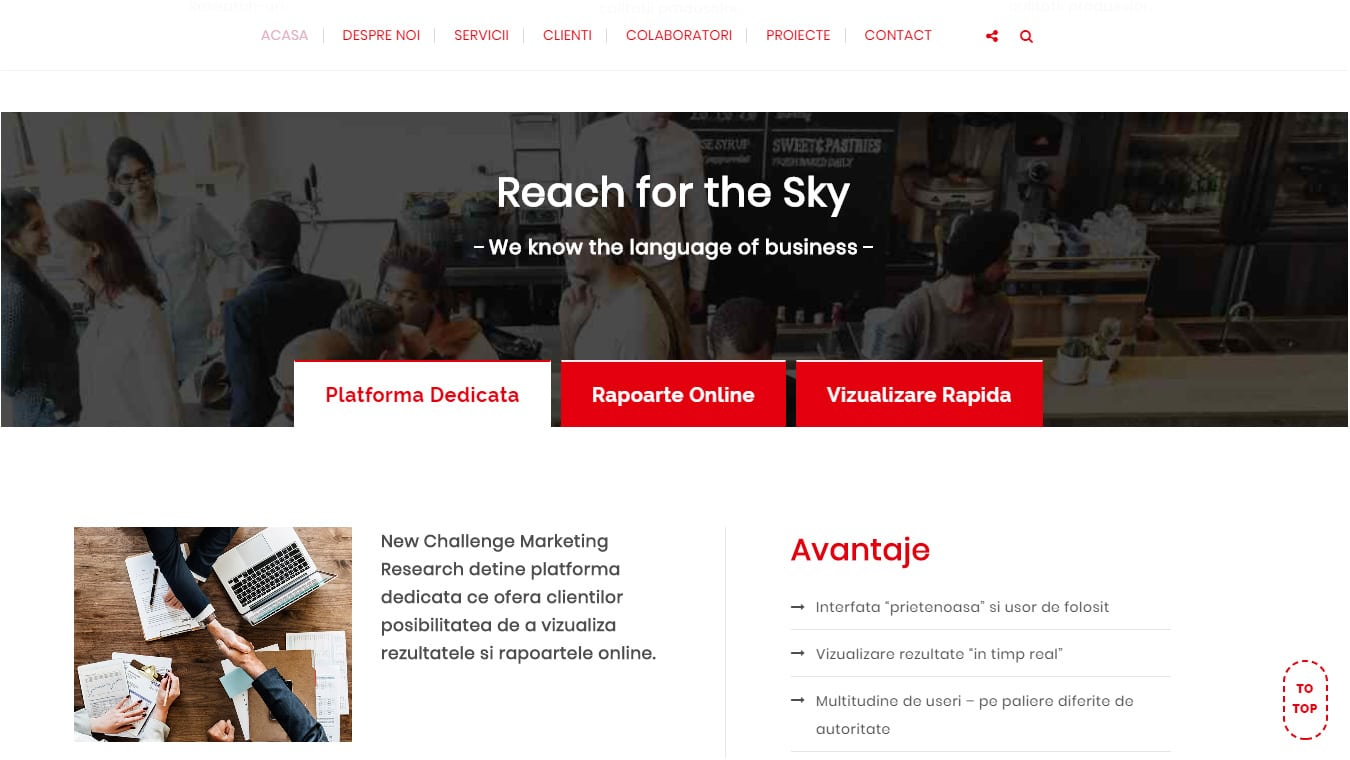 newchallenge homepage