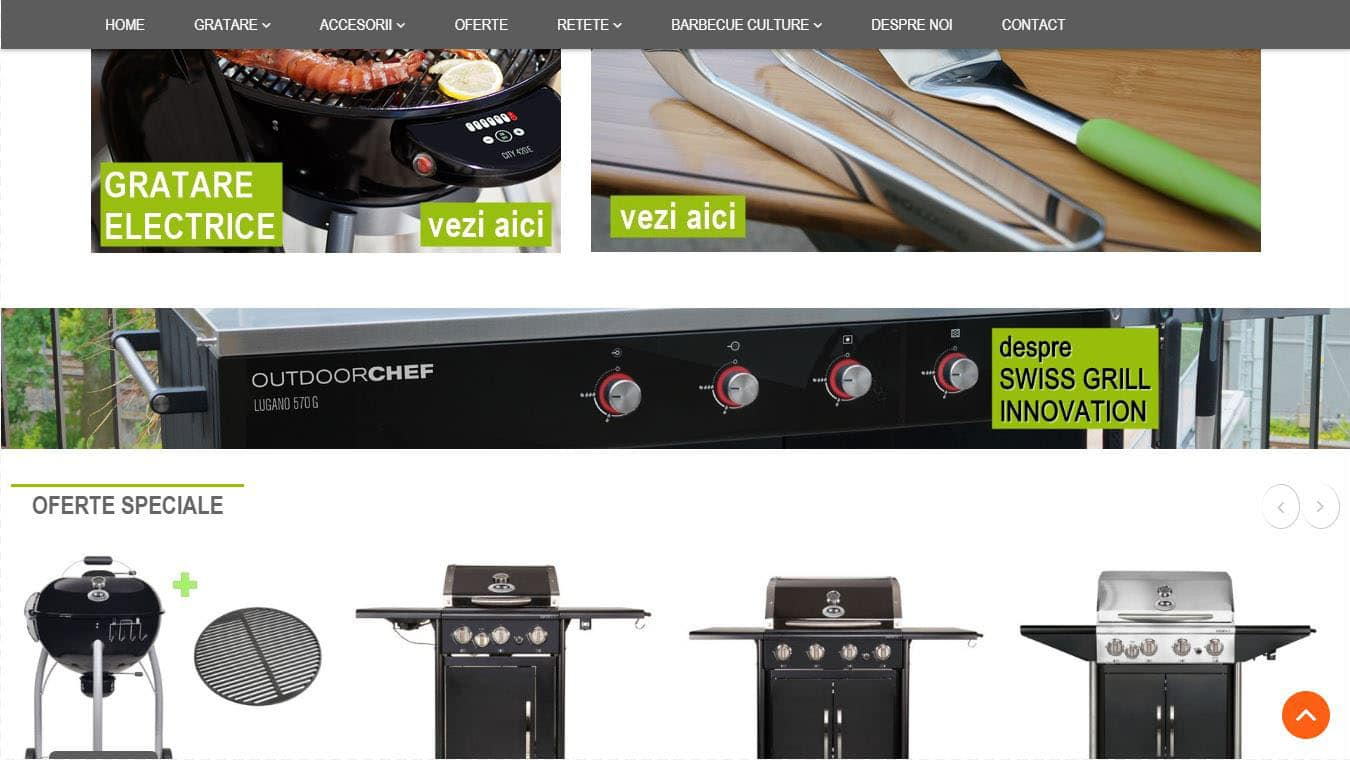 outdoorchef homepage