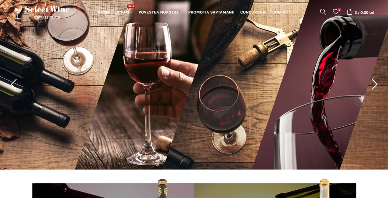 selectwine homepage