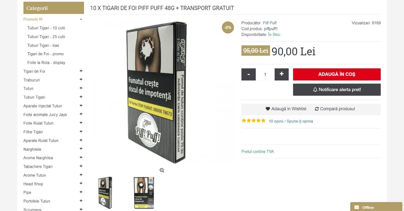 tuburiaparate produs